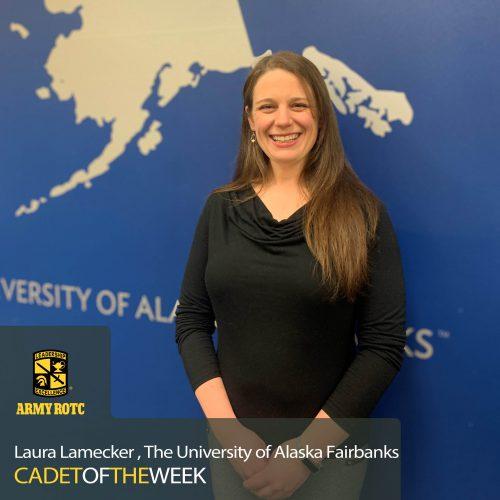 Cadet Of The Week: Laura Lamecker