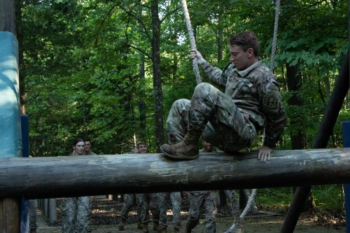 Confidence is Key: Confidence Course – 1st Regiment, A Company