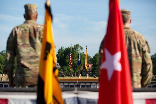 Celebrating Good Times: 1st Regiment Graduation