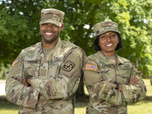 From Oahu to Officer Training: Familiar Faces at Fort Knox