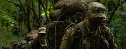 General Funk visits 8th Regiment, Advanced Camp FTX