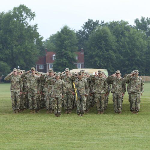 3rd Regiment, Advanced Camp Graduation