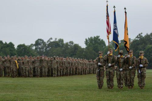 4th Regiment Graduation