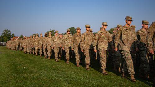 6th Regiment, Advance Camp Graduation