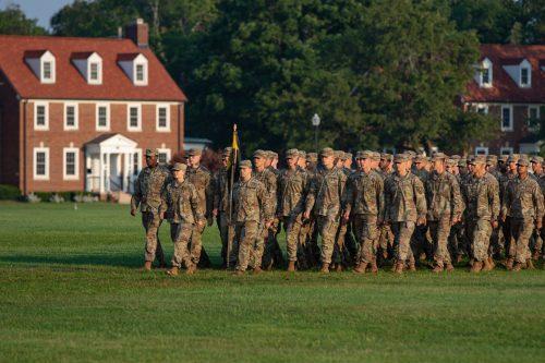 5th Regiment, Advanced Camp Graduation