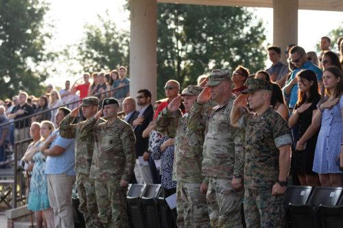 10th Regiment, Advanced Camp Graduation