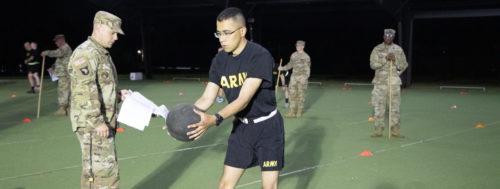 1st Regiment, Advanced Camp, Physical Training