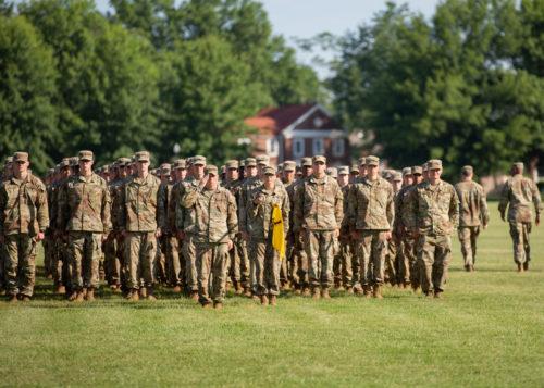 1st Regiment, Advanced Camp Graduation